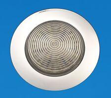"""LED Boat/Caravan Ceiling Light - 3.5"""" Recessed Mount - Cool White LEDs - 12V"""