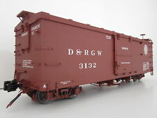 AMS freight Wagon Box Car D+ RWG 3132 G Scale for Accucraft LGB Kiss BACHMANN