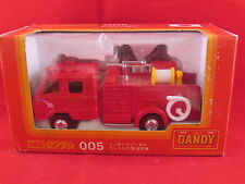Tomica - Dandy - Nissan Condor Chemical Fire Truck - 005 - 1.58 - Tomy  Mint/New