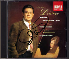 Placido DOMINGO Signiert MOZART Idomeneo Don Giovanni Zauberflöte La Clemenza CD