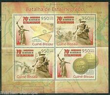 GUINEA BISSAU 2013 70th ANNIVERSARY BATLLE OF STALINGRAD  SHEET