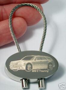 Chrysler 300 C Touring Schlüsselanhänger 300C Gravur