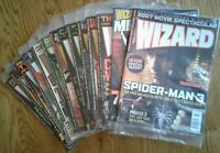 WIZARD COMICS MAGAZINES of 2007 w/ Mega Movie Issues, specific covers shown