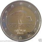 Pièce 2 euros commémorative LETTONIE 2015 - La Cigogne - UNC