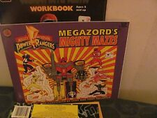 "Mighty Morphin Power Rangers ""Megazord's Mighty Mazes"" NEW"