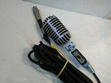 VINTAGE SHURE 55SW WITH CABLE   FREE SHIPPING