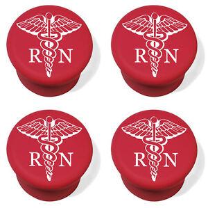 Silicone Wine Bottle Stopper Set of 4 RN Registered Nurse