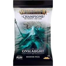 WARHAMMER AOS: CHAMPIONS * Onslaught Booster Pack