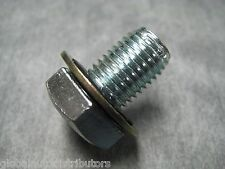 M12x1.5 Single Oversize Oil Drain Plug & Washer - Made in USA - Ships Fast!