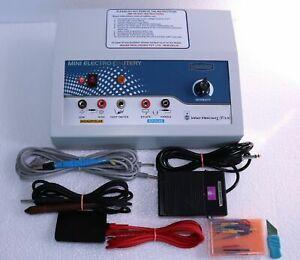Electro Surgical Cautery with Electro Unit Generator Bipolar Monopolar Machine