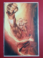 Street Fighter #2 Comic Book SUPER RARE Virgin Variant Ken Power Edition Cover