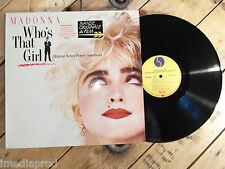 MADONNA WHO'S THAT GIRL BOF LP 33T VINYLE EX COVER EX