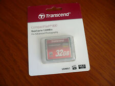Transcend 32GB CF Compact Flash Memory Card for Canon EOS 40D 50D 5D MARK II 7D