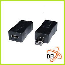 USB Convertitore Adattatore Micro B Jack Mini B Spina 2.0 PS3