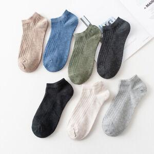 Women Solid Cotton Short Socks Ladies Stripe College Breathable Comfortable Sock