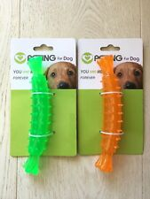 TPR DOG CHEWING TOY 17.5*4.3CM