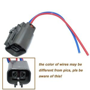 Alternator Plug Harness 2 Way Pigtail Connector For Nissan D21 Pickup 2.4L New