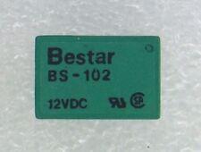 BS-102S12VDC BESTAR 12VDC 400Ohm 2A SPDT Ultra Miniature Relay 4 PCS