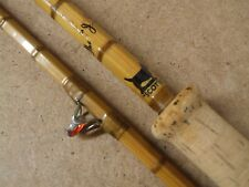 "SHARPES 9' 6"" SCOTTIE Split cane Spinning Rod  *** very original ***"