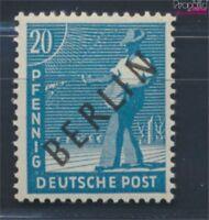 Berlin (West) 8 geprüft postfrisch 1948 Schwarzaufdruck (8830852