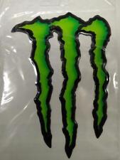 Pegatina Monster Energy 3D logo sticker 17x11 cm KUM 151079