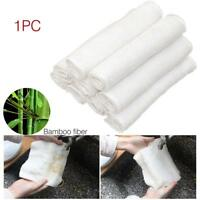 Dish Cleaning Cloth Bamboo Fiber Dish Washing Towel Kitchen Dishcloth Rags GA