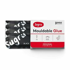 Sugru Original Formula Mouldable Glue - Strong Flexible Adhesive Repair 3 Pack