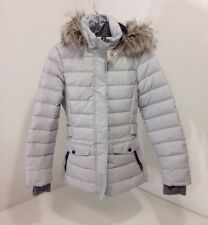 FREE COUNTRY WOMEN'S AURORA DOWN JACKET WINTER SILVER SMALL NWT