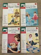 Vintage Singer Sewing Library Lot of 4 How To Instruction Books