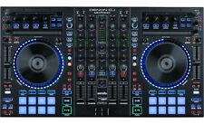 Denon mc7000-DJ Midi Controlador USB Workstation 4 canales Audio Interface Serato