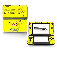 POKEMON Pikachu Anime Manga Skin Aufkleber Für Nintendo New 3DS.XL