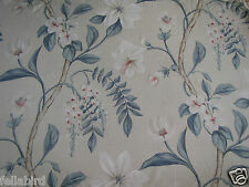 "ZOFFANY CURTAIN FABRIC ""Hazlewood"" 3.2 METRES INDIENNE 100% LINEN WINTERBOURNE"