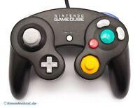 GameCube - Original Nintendo Controller / Pad #schwarz DOL-003 Top Zustand