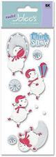 EK Success: Dimensional Scrapbook 3D Stickers Jolee's Think Snow Snowman