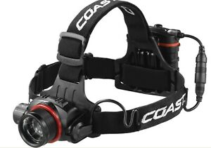 Coast LED Kopflampe HL8 Fokus - Stirnlampe für Joggen Angeln Laufen Sport