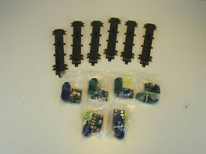 Atlas #6099 O Scale Remote Switch Machines. Lot of 6 with Control Buttons. New.