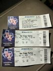 San Diego Padres No Hitter Tickets