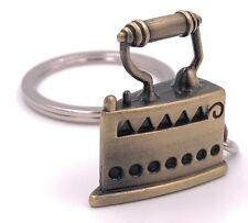 fer charbon antique Porte-clés en métal