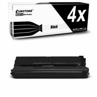 4x Eurotone Cartucho Negro XL Compatible para Brother DCP-L-8410-CDN