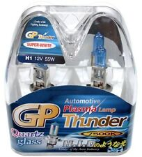 Authentic GP Thunder™ 7500K H1 Super White Light (2) Bulbs For Headlamp Fog DRL