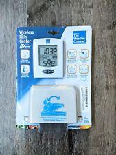 The Weather Channel Wireless Rain Center Instant Transmission Ws-9005U-It New