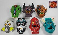 Mighty Max - Horror Heads X 7 - 100% Complete