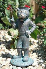 NC State Wolfpack Mr. Wuf Mascot Garden Statue