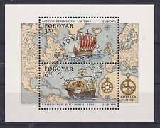 Echte Briefmarken aus Dänemark mit Geschichts-Motiv