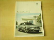 50552) VW Passat CC Prospekt 05/2008
