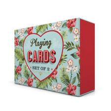 Témérité Jones festival d'été Ensemble de 2 carte à jouer intérieur/extérieur famille jeu