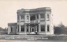 LE MARS, IOWA, WHITE HOUSE BATHING PALACE, DABBS REAL PHOTO PC used 1907