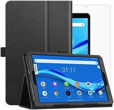 For Lenovo Tab M8 Case Leather Folio Stand  & Glass Protector