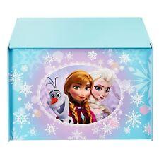 Disney FROZEN Spielzeug Kiste TRUHE Box KINDERZIMMER Sitzbank HOLZKISTE # NEU