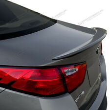 SPOILER WING Unpainted Factory Style Flush No Drill For: KIA OPTIMA 2014-2015